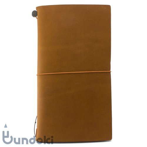 【MIDORI/ミドリ】TRAVELER'S notebook/トラベラーズノート(キャメル)