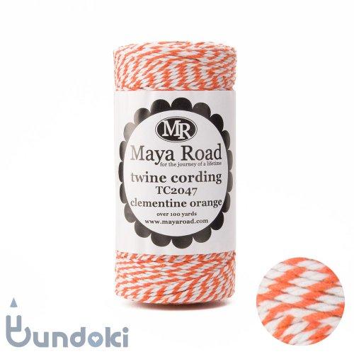 【Maya Road/マヤロード】Twine Cording /コットン トワイン (Clementine Orange)