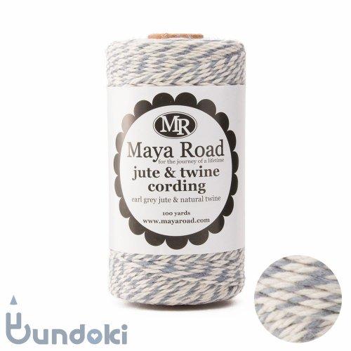 【Maya Road/マヤロード】Jute & Twine Cording  (Earl Grey jute & Natural twine)