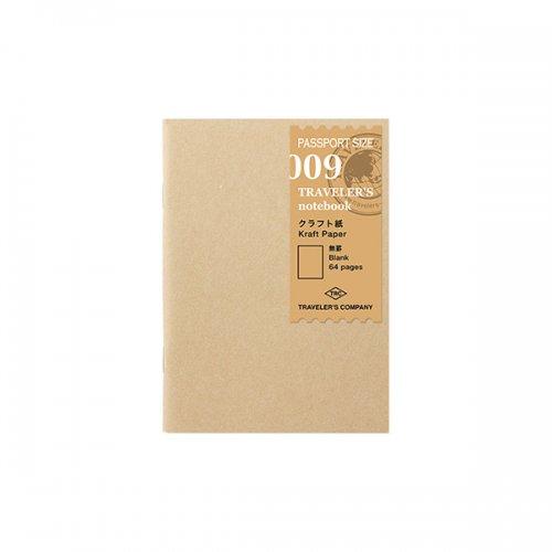 【MIDORI/ミドリ】トラベラーズノート パスポートサイズ リフィル クラフト紙