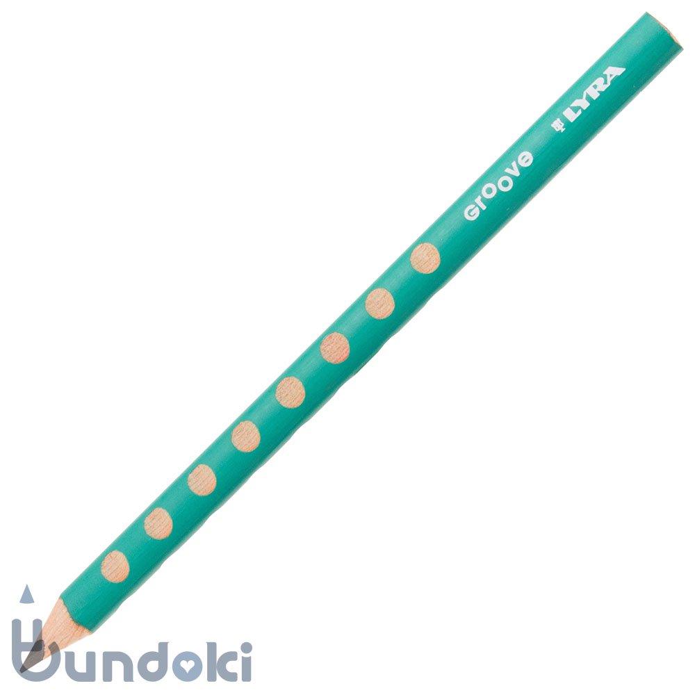 【LYRA/リラ】GROOVE 黒鉛芯鉛筆 (ターコイズ)