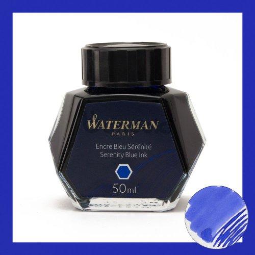 【WATERMAN/ウォーターマン】ボトルインク (FLORIDA BLUE/ブルー)