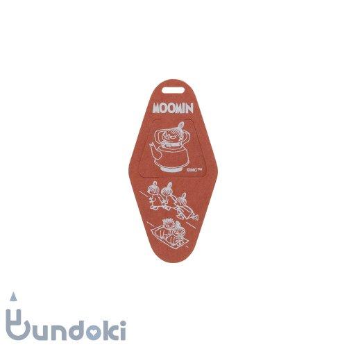 【HIGHTIDE/ハイタイド】ムーミン・ブックマーカー (レッド)