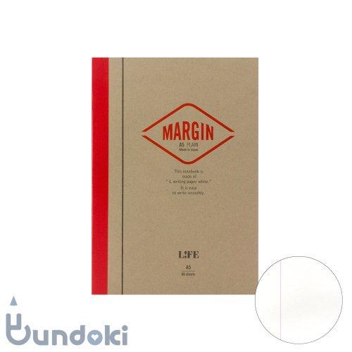 【LIFE/ライフ】MARGIN/マージン  (無地・A5)