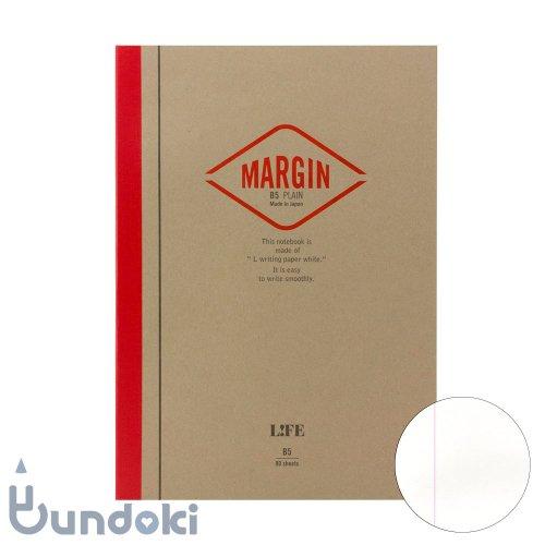 【LIFE/ライフ】MARGIN/マージン  (無地・B5)