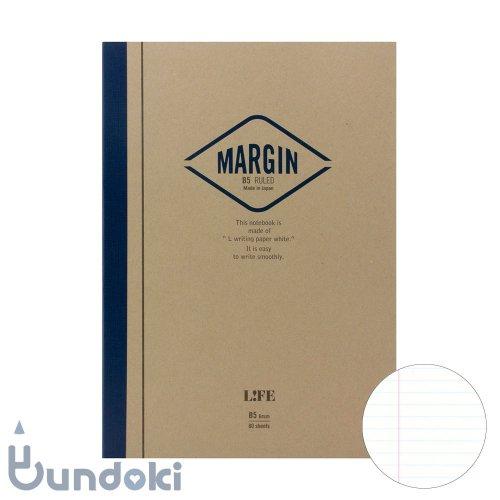 【LIFE/ライフ】MARGIN/マージン  (横罫・B5)