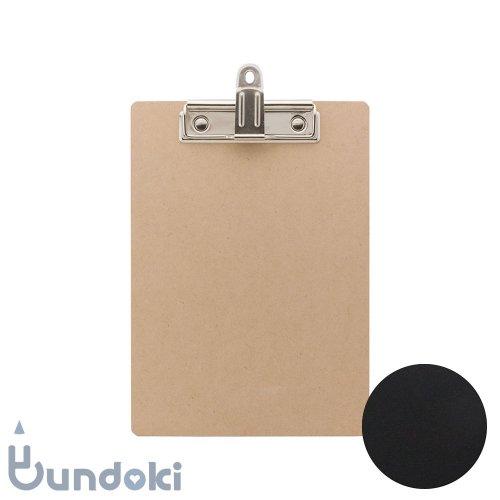 【UNITED BEES/ユナイテッドビーズ】黒板クリップボード・A5 (ブラック)