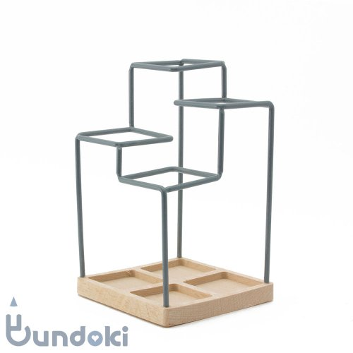 【block/ブロックデザイン】スケッチ・ペンスタンド (グレー)