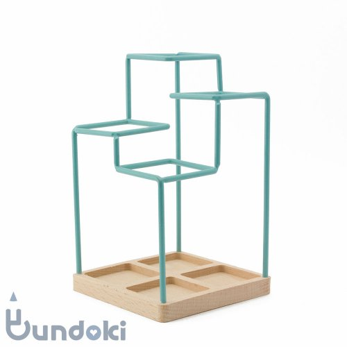 【block/ブロックデザイン】スケッチ・ペンスタンド (ブルー)