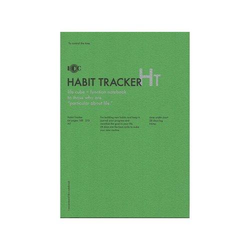 【UNITED BEES/ユナイテッドビーズ】ファンクションノート・ハビットトラッカー (A5)
