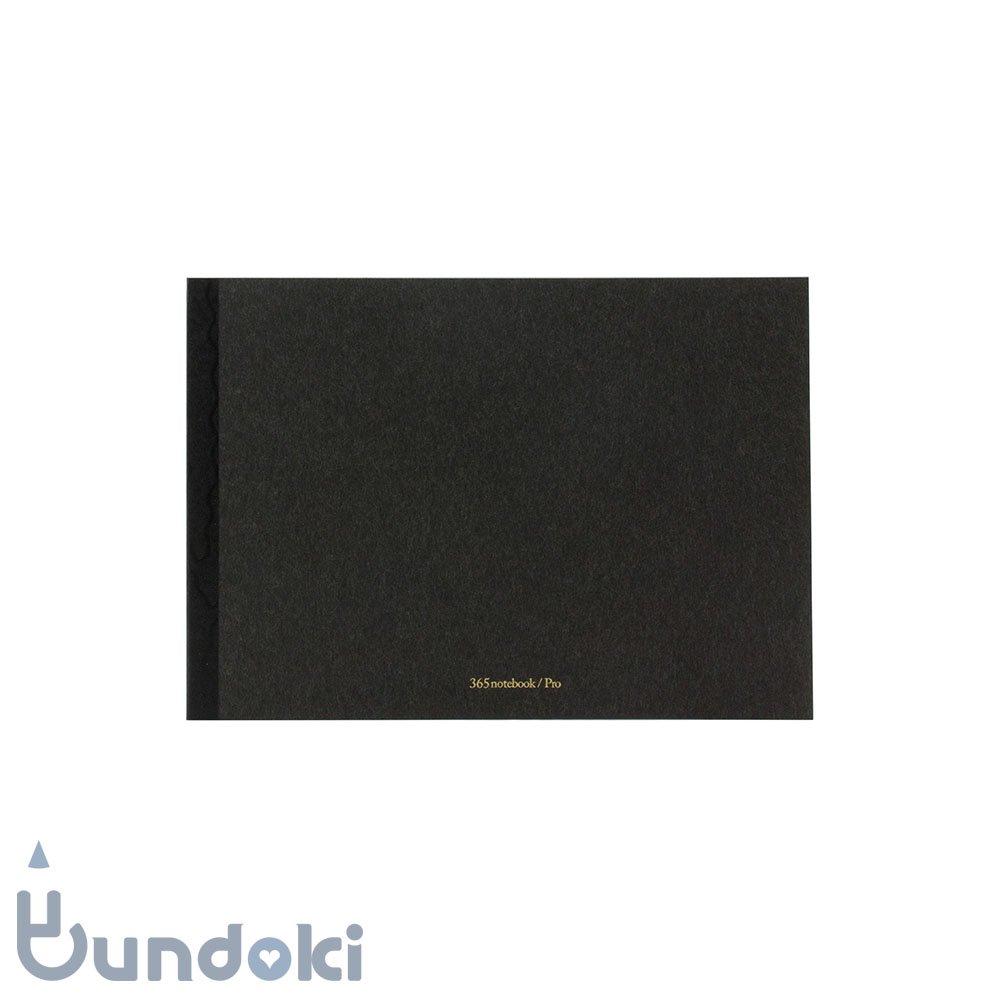 【新日本カレンダー】365 notebook / Pro (A5・炭-sumi)