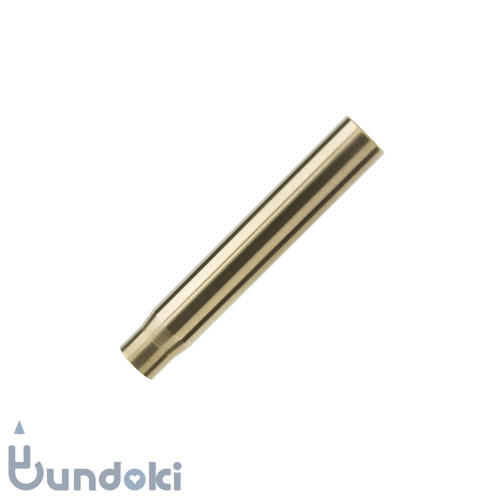 【Metal Shop】Bullet Pencil Tube / チューブ (ブラス)