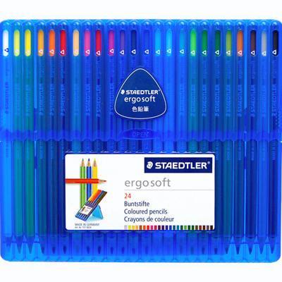 【STAEDTLER/ステッドラー】エルゴソフト色鉛筆24色/157SB24