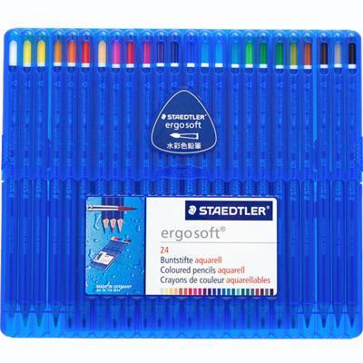 【STAEDTLER/ステッドラー】エルゴソフトアクェレル水彩色鉛筆(24色入り)
