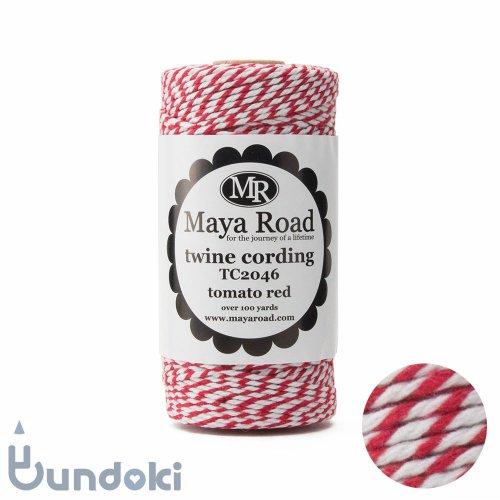 【Maya Road/マヤロード】Twine Cording /コットン トワイン (Tomato red)