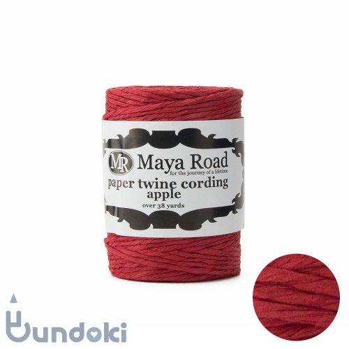 【Maya Road/マヤロード】Paper Twine Cording / 紙ひも (Apple)