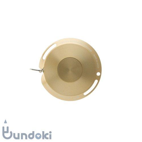 【TAKEDA DESIGN PROJECT】MiLLiSECOND/ファイバー メタルメジャー 1.5m(ゴールド)