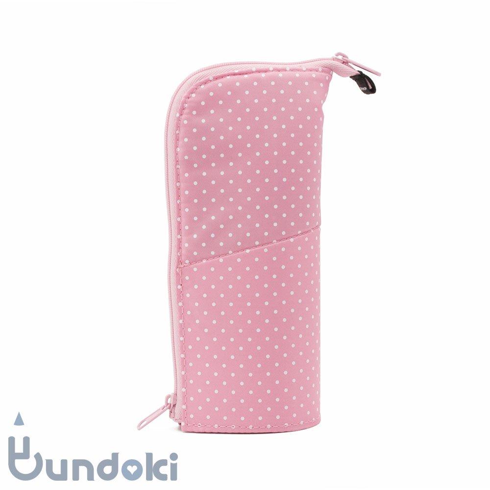 【KOKUYO/コクヨ】ネオクリッツ・レギュラーサイズ (ドット柄・ピンク×ピンク)