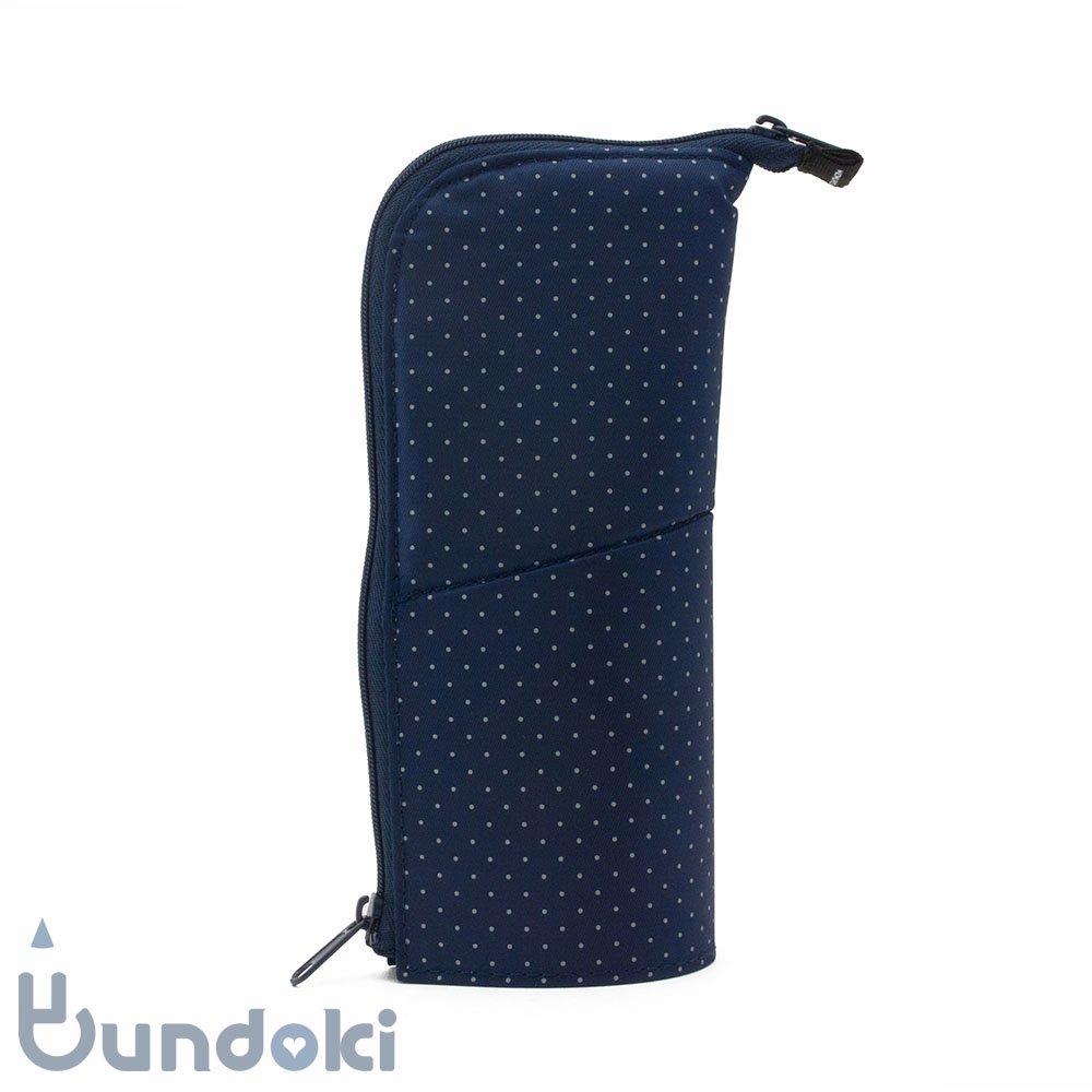 【KOKUYO/コクヨ】ネオクリッツ・レギュラーサイズ (ドット柄・ネイビー×ネイビー)