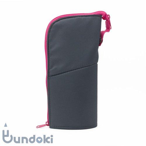 【KOKUYO/コクヨ】ネオクリッツ・ラージサイズ (ダークグレー×ピンク)