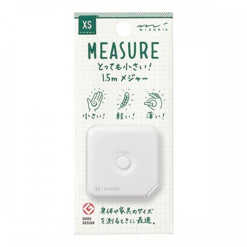 【MIDORI/ミドリ】XS メジャー・1.5m (白)