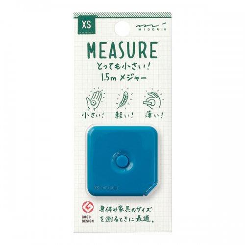 【MIDORI/ミドリ】XS メジャー・1.5m (青)