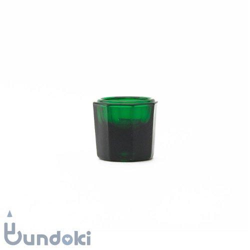 日本製のガラス瓶・ダッペングラス (緑)