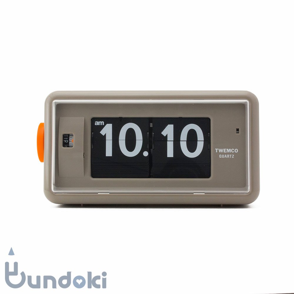 【Twemco/トゥエンコ】Alarm Table Clock #AL-30  (Gray)