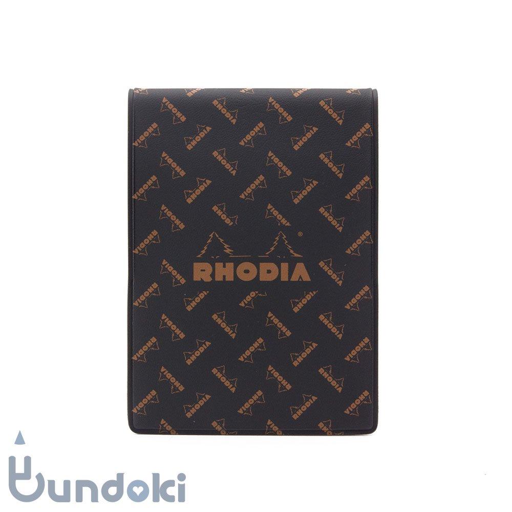 【RHODIA/ロディア】Limited Edition ロディア11・復刻版モノグラム (ロディアブラック)