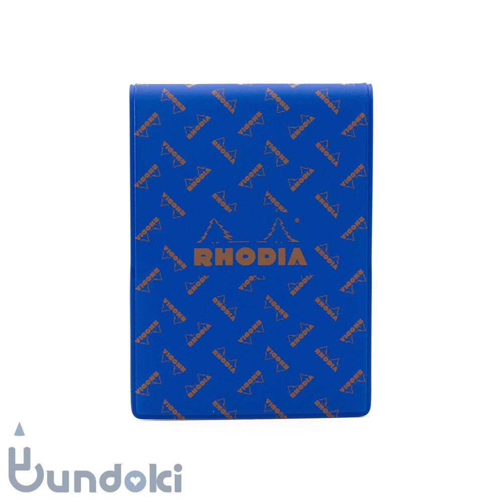 【RHODIA/ロディア】Limited Edition ロディア11・復刻版モノグラム (サファイアブルー)