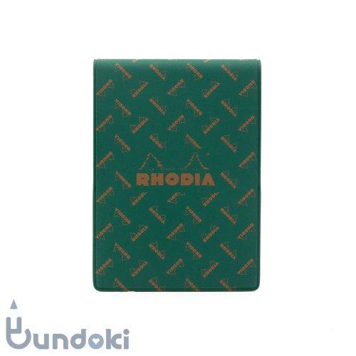 【RHODIA/ロディア】Limited Edition ロディア11・復刻版モノグラム (サファリグリーン)