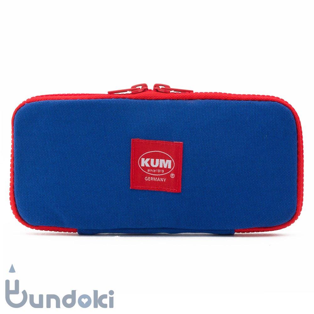 【KUM/クム】KUM フラットペンケース (ブルー)