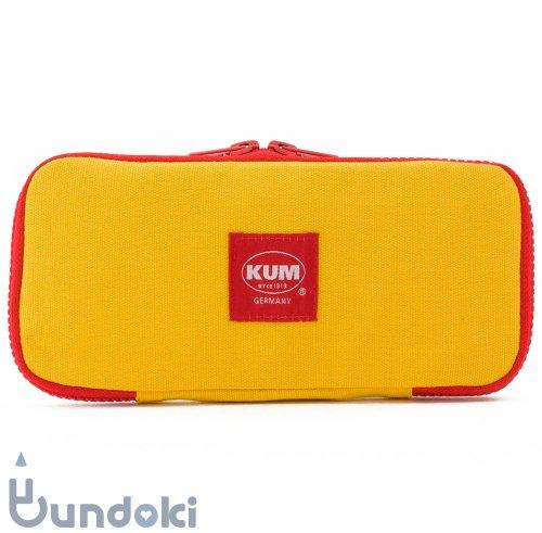 【KUM/クム】KUM フラットペンケース (イエロー)