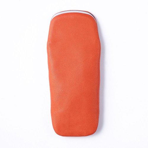 【METAPHYS/メタフィス】froro Pen case S /がま口型ペンケース・S (オレンジ)