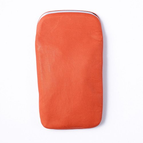 【METAPHYS/メタフィス】froro Pen case L /がま口型ペンケース・L (オレンジ)