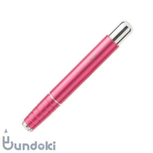 【kutsuwa/クツワ】ワンプッシュ鉛筆ホルダー(ピンク)
