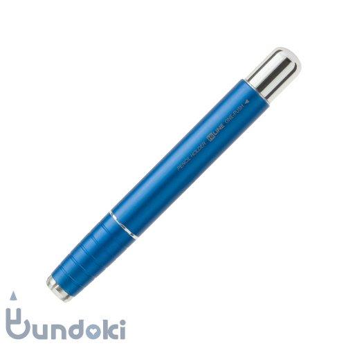 【kutsuwa/クツワ】ワンプッシュ鉛筆ホルダー(ブルー)