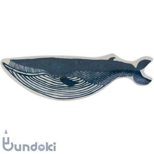 【倉敷意匠】KATA KATA / 印判手長皿 (クジラ)