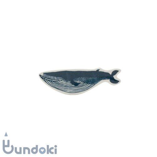 【倉敷意匠】KATA KATA / 印判手豆皿 (クジラ)
