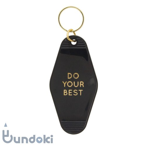【three potato four】goodlife key tags (Do Your Best / GOLD)