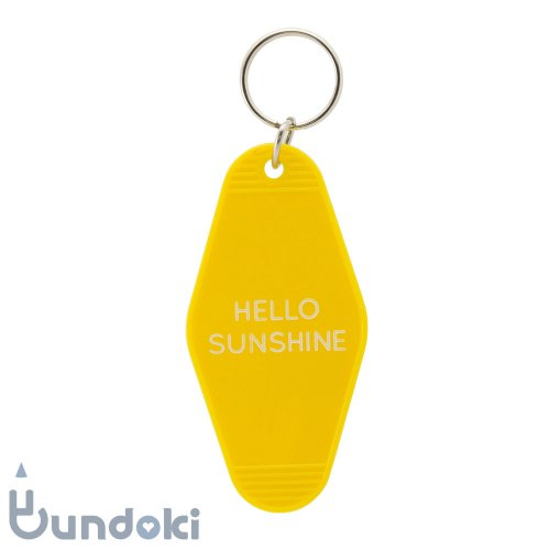【three potato four】goodlife key tags (Hello Sunshine)