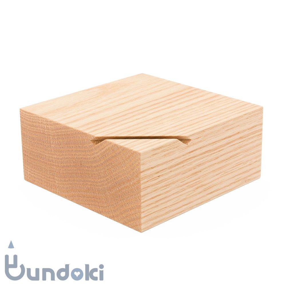【hacoa/ハコア】Coin Box / 貯金箱 (オーク)