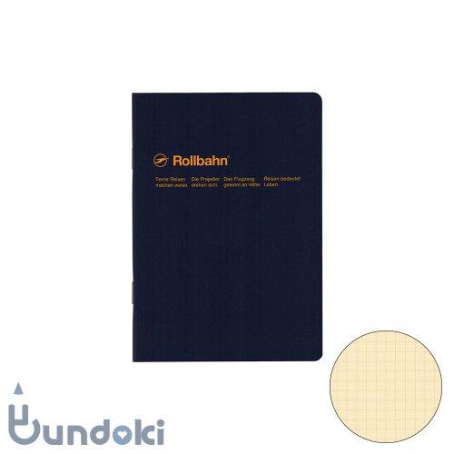 【Delfonics/デルフォニックス】ロルバーンノート・A6 (ダークブルー)