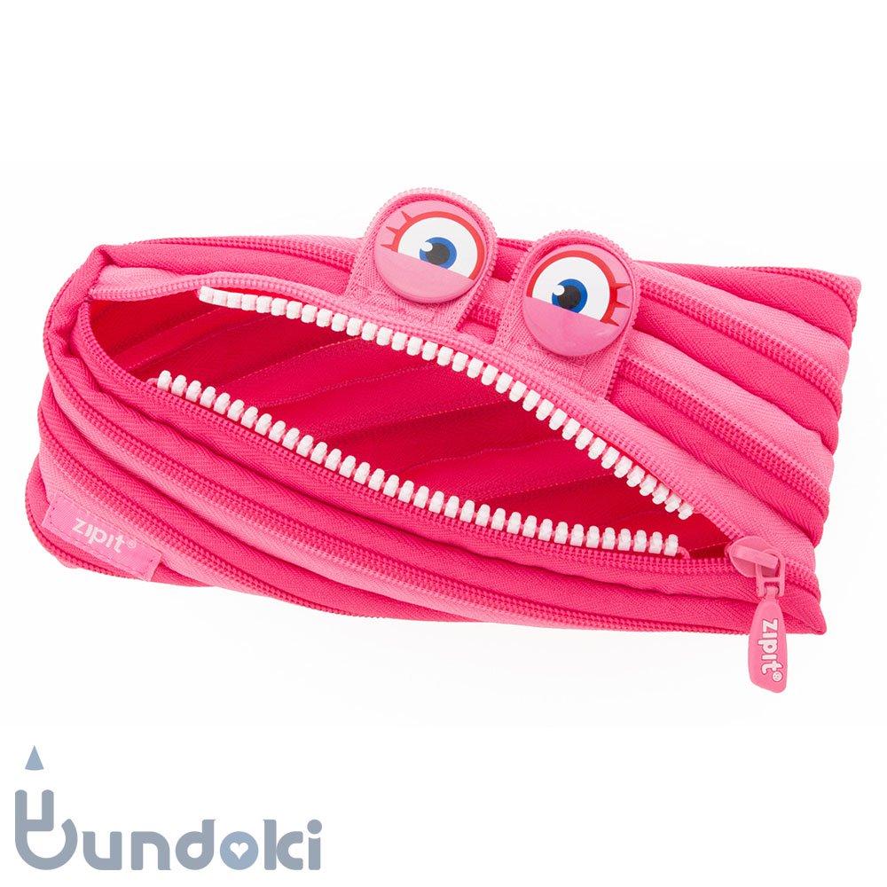 【Zip It/ジップイット】Wildlings / ワイルドリングスポーチ (ピンク)