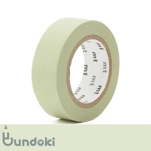 【カモ井加工紙/KAMOI】mt 1P マスキングテープ / パステルオリーブ