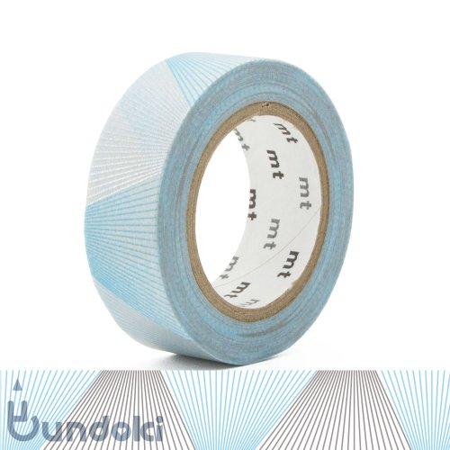 【カモ井加工紙/KAMOI】mt 1P マスキングテープ / ライングラデーション・シルバー