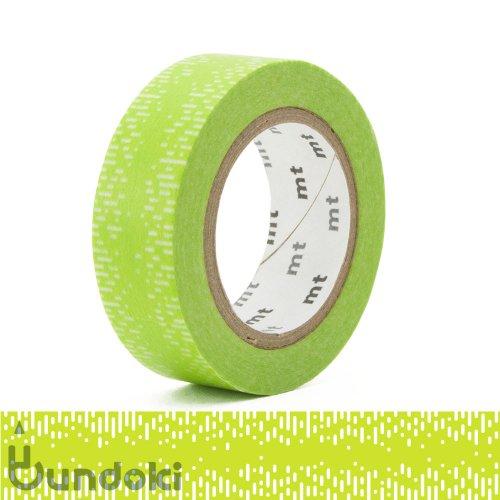 【カモ井加工紙/KAMOI】mt 1P マスキングテープ / 水滴グラデーション・グリーン
