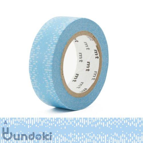 【カモ井加工紙/KAMOI】mt 1P マスキングテープ / 水滴グラデーション・ブルー