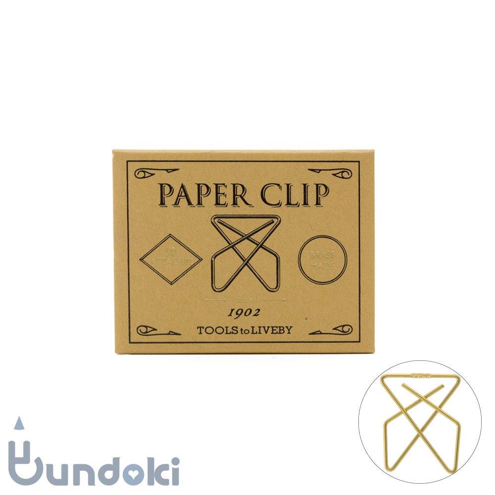【TOOLS to LIVEBY/ツールズ トゥ リブバイ】Paper Clip /ペーパークリップ 1902 (C)