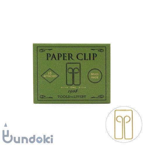 【TOOLS to LIVEBY/ツールズ トゥ リブバイ】Paper Clip /ペーパークリップ 1908 (D)